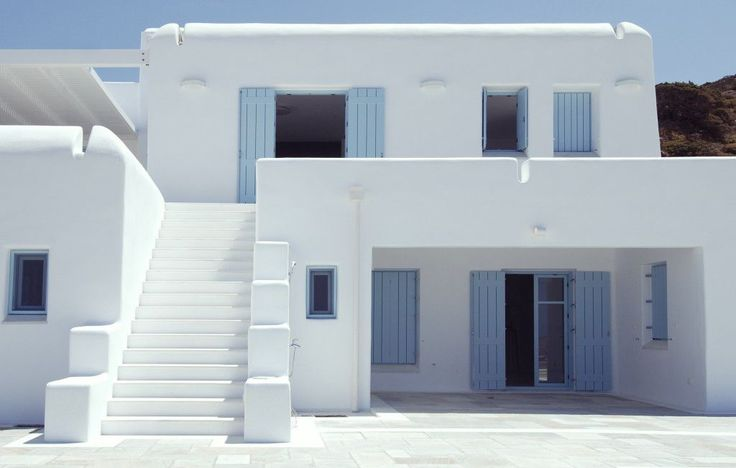 Accoya® wood has been used in a distinctive residence in Paros, a popular Greek Island in the Aegean Sea.