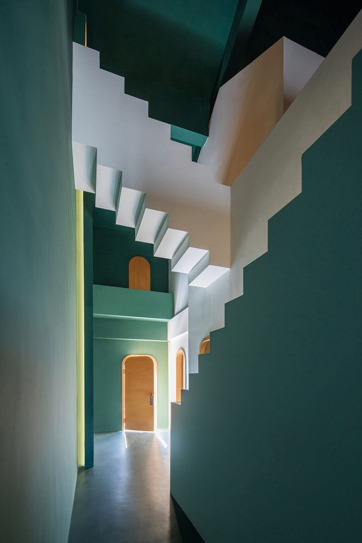 These Illusory Hotel Rooms Are Inspired By M.C. Escher Artworks – C-More interior | Iris Havekes