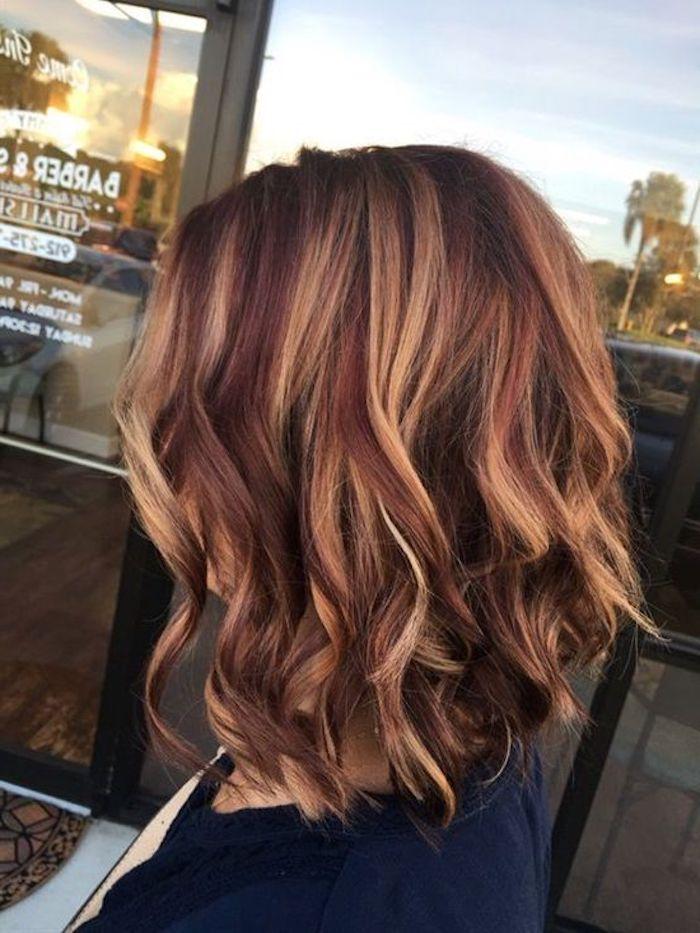 Coole Frisuren Moderne Haarschnitte Rote Haare Mit Blonden