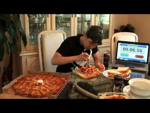 Michael Phelps 12,000+cal Diet Challenge - YouTube