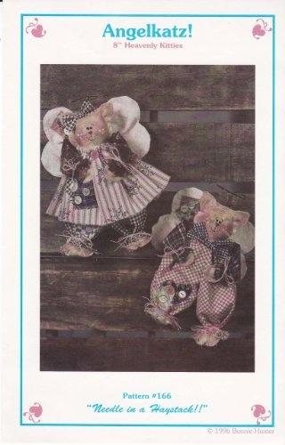 "Angelkatz! 8"" Heavenly Kitties Craft Sewing Pattern by Needle in a Haystack, http://www.amazon.com/dp/B00C0FZDAU/ref=cm_sw_r_pi_dp_1j3trb1S9Y9AG"