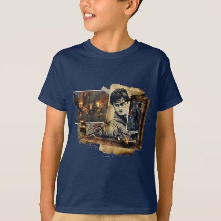 Harry Potter Collage 7 T-Shirt - tap to personalize and get yours