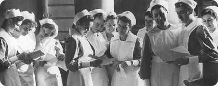 history nursing St Vincents hospital Australia