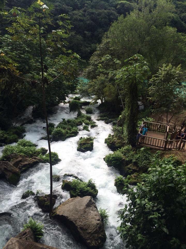 "Cascada de Tamul"" Huasteca Potosina SLP Vista desde el Ojo de Agua."