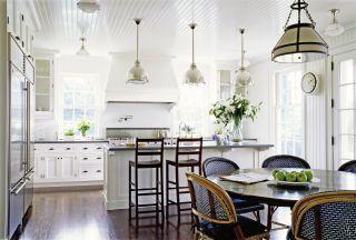 Traditional Kitchen by Victoria Hagan Interiors and Ferguson & Shamamian Architects in Nantucket, Massachusetts
