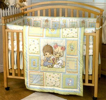 baby crib bedding | Precious Moments Pals Baby Crib Bedding set
