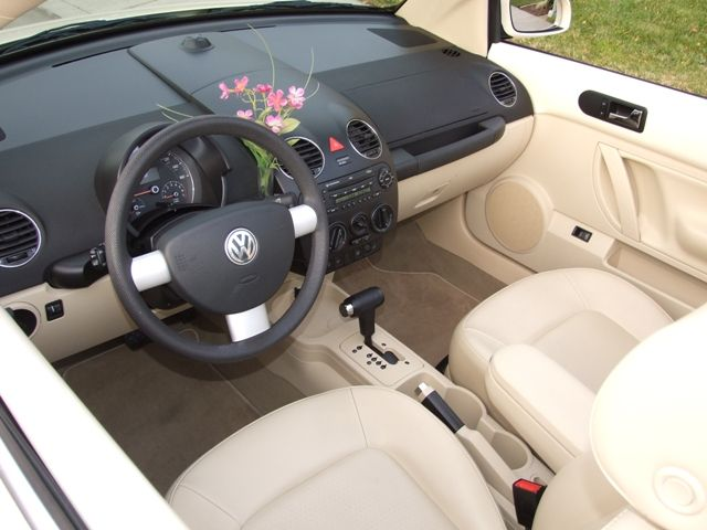 2005 2007 interior volkswagen beetles pinterest for Interieur new beetle