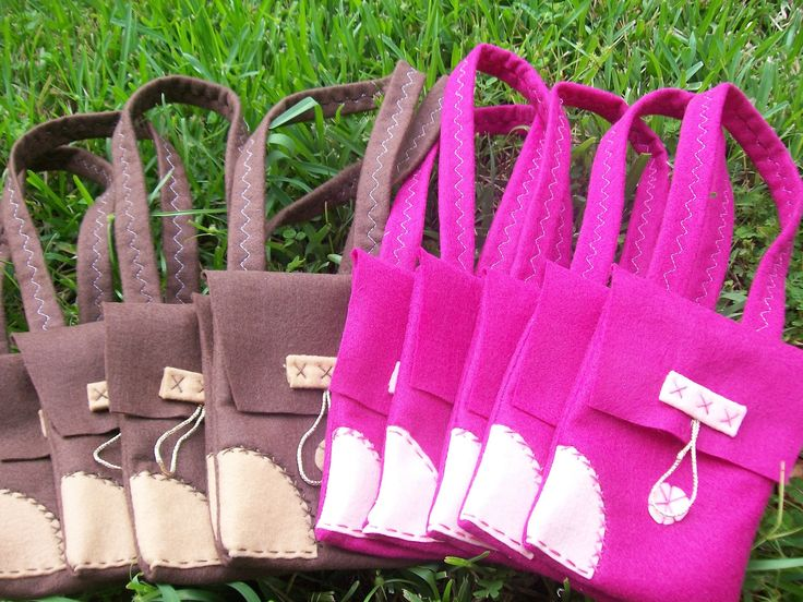 Rapunzel Party bags Set of 12 Fynn Satchel party by BellisimaSofia