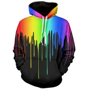 SHARE & Get it FREE | Long Sleeve Multicolor Paint Dripping HoodieFor Fashion Lovers only:80,000+ Items·FREE SHIPPING Join Dresslily: Get YOUR $50 NOW!