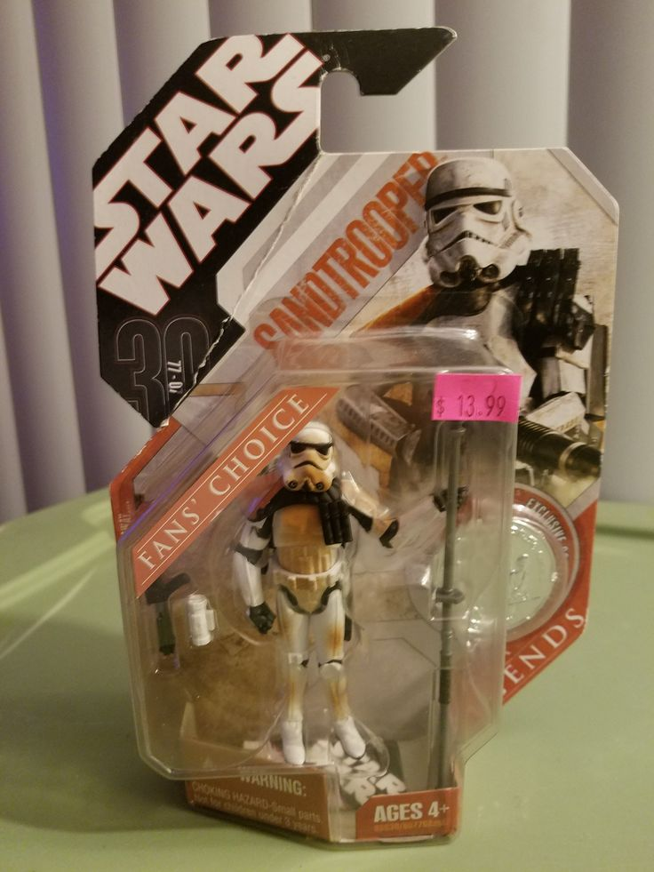HASBRO STAR WARS 30TH ANNIVERSARY Sandtrooper fans' choice