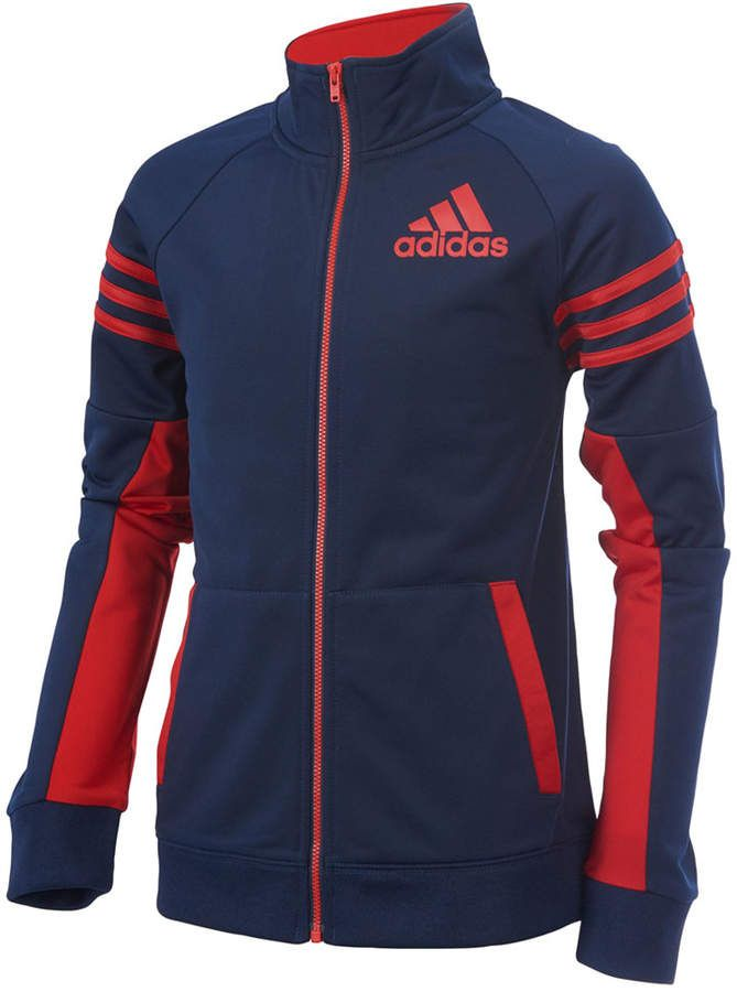 adidas League Track Jacket, Little Boys | Ropa casual ...