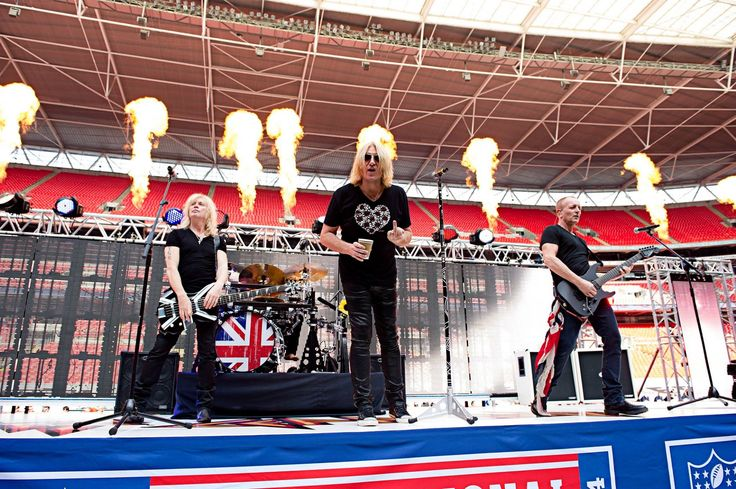 Joe Elliott of Def Leppard, has been spotted giving pre-game interviews wearing the limited edition ICJUK design 'Rock & Roll Heart & Roses. Description from icjuk.com. I searched for this on bing.com/images
