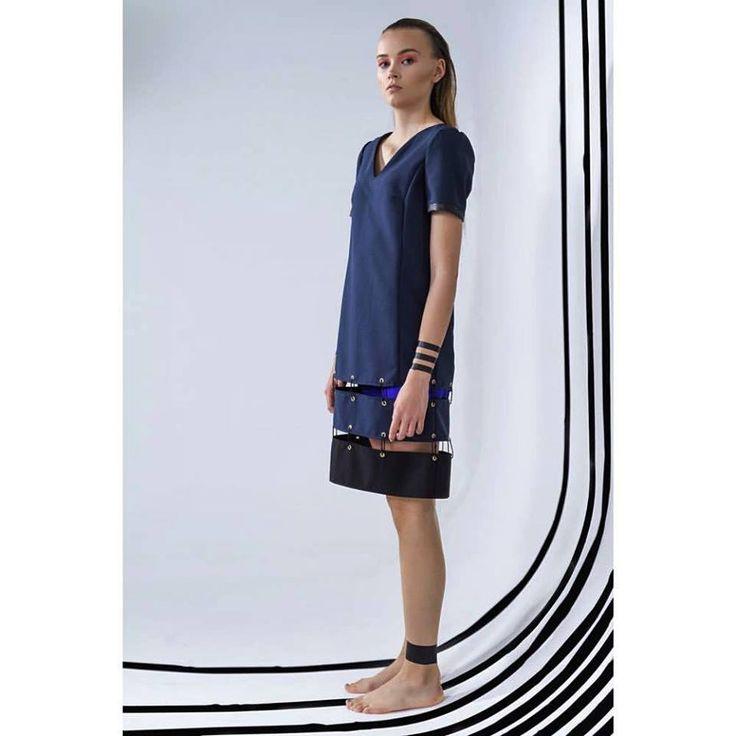 Dress: Gabrielle Tamasciuk Photo: Magnus Haaland Make-up: Sarah Choucair Model: Laura (Rebel Models)