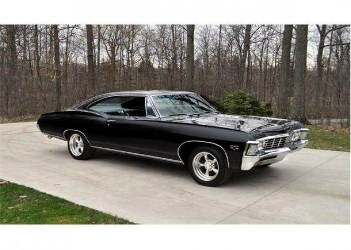 1967 Chevrolet Impala SS... Also know as the best car ever because it was driven by Sam and Dean
