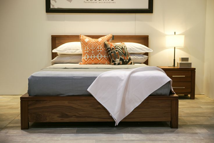 Sleepy yet? The Addison bed is available in king and queen sizes. Also available in Lenga wood. @Home & Garden Events #NationalHomeShow
