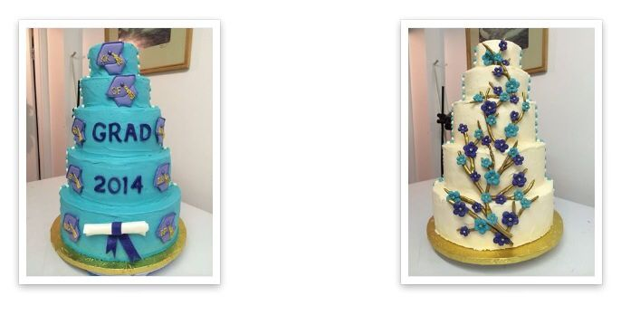 Two sided cake