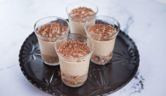 Coffee Dairy Free Cheesecake | Good Chef Bad Chef