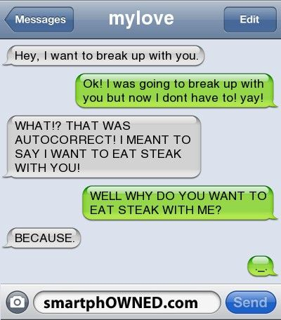 10 Times It's OK To Dump Someone Over Text Message