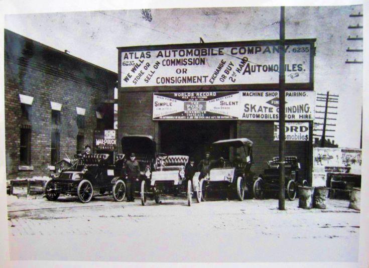 447 best images about Vintage Car Dealerships on Pinterest ...
