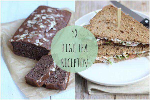 5x high tea recepten - Lekker en Simpel