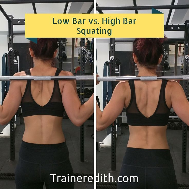 I recently started low bar squatting and what a difference it makes. I can squat more and hit the hamstrings and glutes harder.