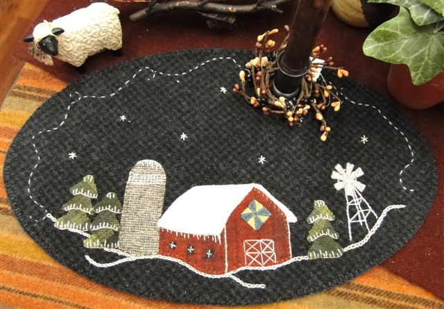 New Wool Felt Patterns from Prairie Point Junction - michelle@quiltystuff.com - Quilty Stuff Mail