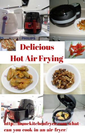 Cooking In Hot Air Fryers