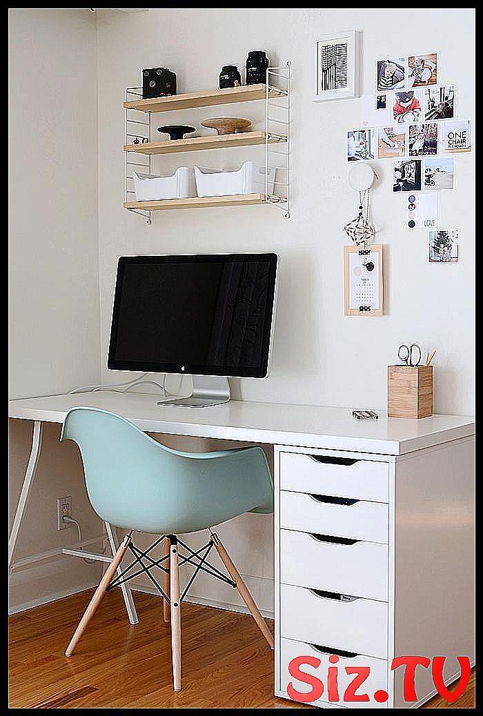 Le bureau est trop IKEA Mainstream-Style mais je tiens à #Chair #classpintag # cleared …