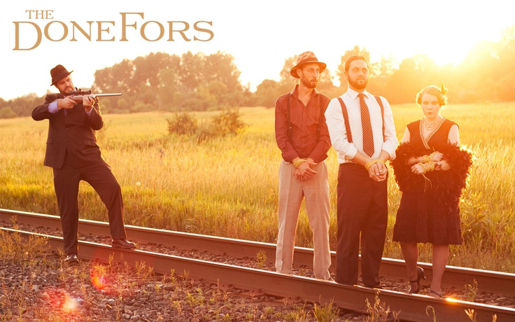 The DoneFors. The darlingest darlings you'll ever know. And wonderful wonderful musicians to boot. :)