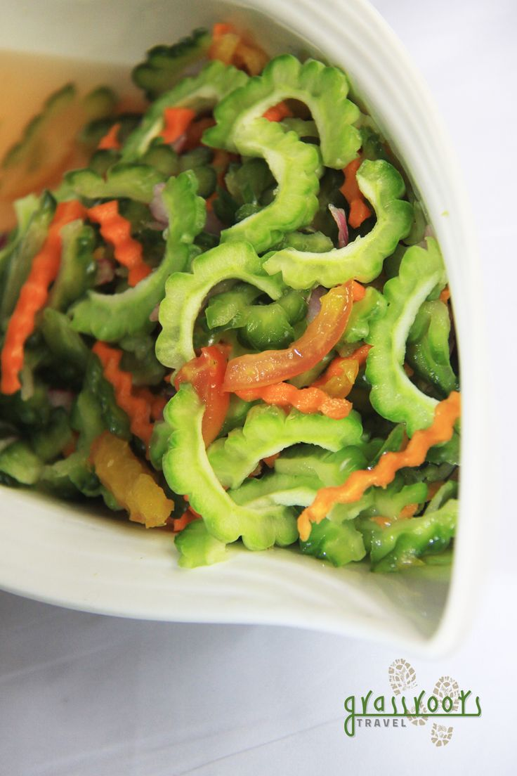 41 best images about canning on pinterest kimchi recipe korean side dishes and green papaya - Bitter melon culture ...