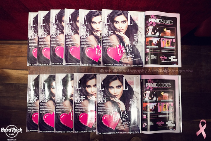 Pinktober special - Elle magazine