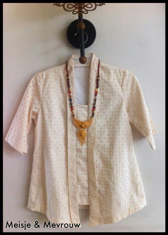 Cotton embroidery kutubaru