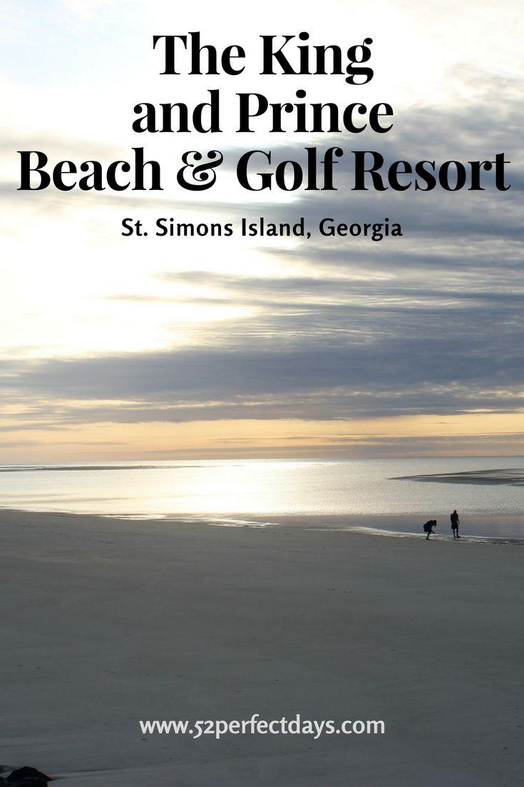 Exploring the two icons of  St. Simons Island, the award-winning King and Prince Beach & Golf Resort and the St. Simons Lighthouse via @52perfectdays