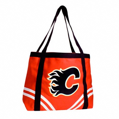 Calgary Flames Canvas Tailgate Tote