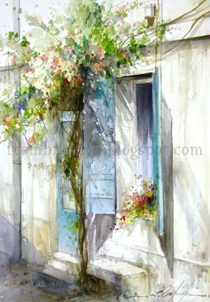Watercolor by Fábio Cembranelli: Watercolor Art, Watercolor Paintings, Art Watercolor Aquarel, Fabio Cembranelli Watercolor, Watercolors, Art Beautiful, Fábio Cembranelli, Aquarel Watercolor, Fábiocembranelli