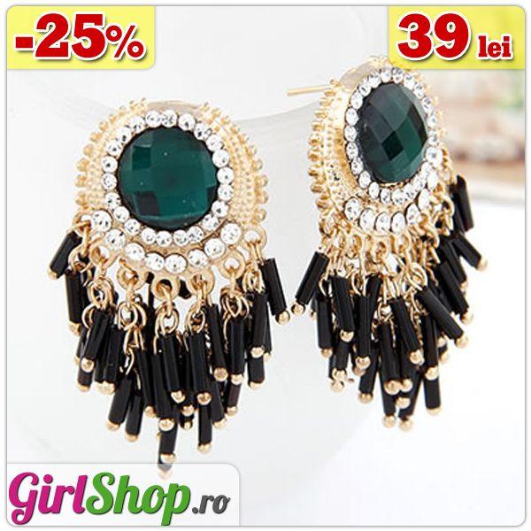 Cercei statement cu cristale si margele -> doar 39 lei http://www.girlshop.ro/cumpara/cercei-statement-cu-cristale-si-margele-113  #cercei #margele #cristale #crystal #earrings #bijuterii #accesorii #fashion #jewelry #bijoux #girlshop