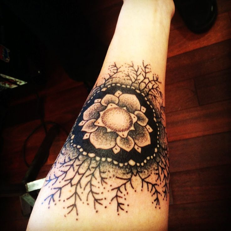 diy mandala flower tattoo on left forearm mandala tattoos tumblr for fashion tattoo. Black Bedroom Furniture Sets. Home Design Ideas