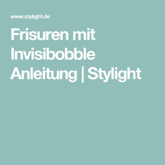 Frisuren mit Invisibobble Anleitung   Stylight