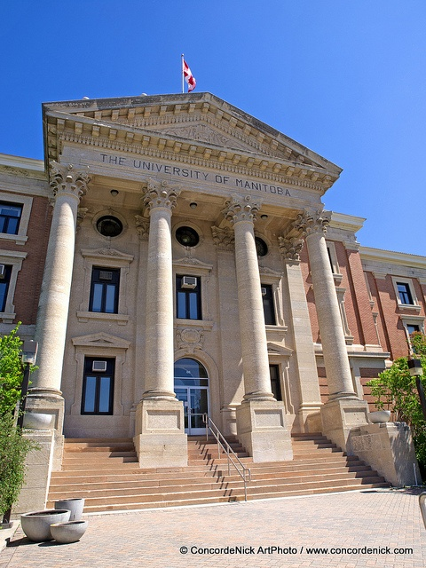 University of Manitoba Steps by Concorde Nick, via Flickr