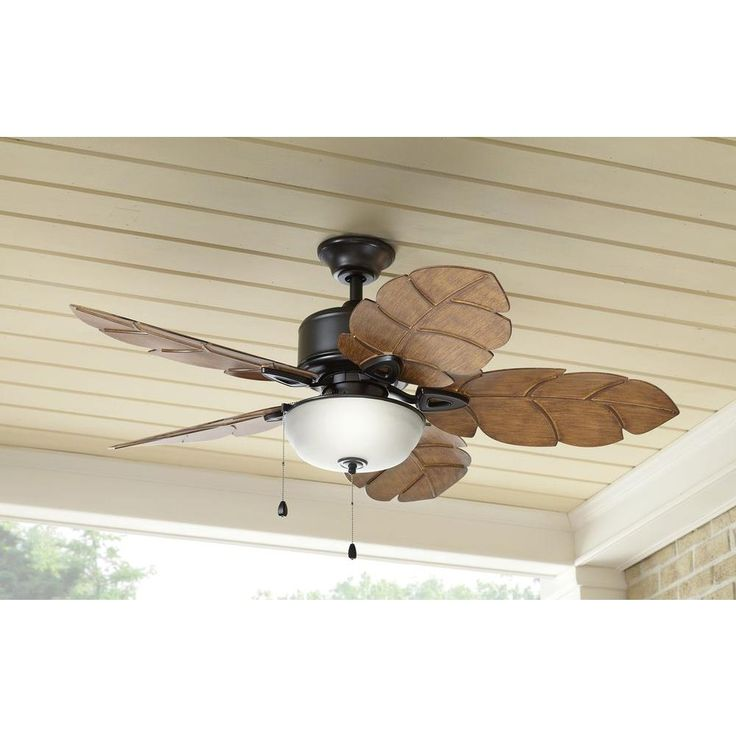 52 Gauguin Tropical 4 Blade Indoor Outdoor Ceiling Fan: 17 Best Images About Ceiling Fan For Homes On Pinterest