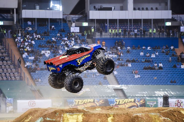 A monster truck performs during the Monster Jam show at the King Fahad stadium in the Saudi capital Riyadh on March 17, 2017.Monster Jam, the US-based motorsport competition featuring outrageously modified vehicles, becomes the latest event introduced to the conservative Kingdom of Saudi Arabia, as part of efforts to promote entertainment. / AFP PHOTO / FAYEZ NURELDINE        (Photo credit should read FAYEZ NURELDINE/AFP/Getty Images) via @AOL_Lifestyle Read more…
