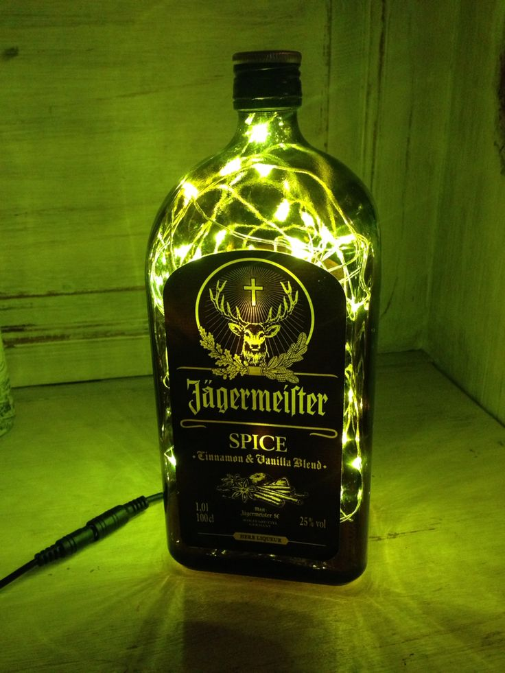 Jagermeister includes 56 herbs, fruits, roots, and spices, including citrus peel, licorice, anise, poppy seeds, saffron, ginger, juniper berries, and ginseng. These ingredients are ground, then steeped in water and alcohol for 2–3 days.