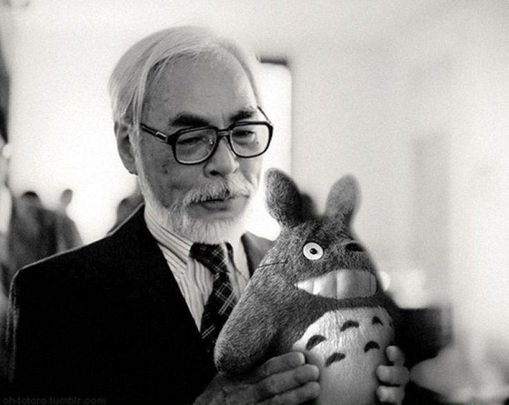 Hayao Miyazaki :')