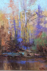 """Woodland Song"" by Tom Christopher - Pastel"