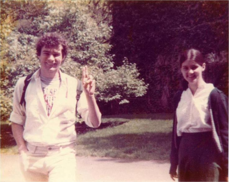 At Harvard Law, Time Kaine was driven by faith  Pictured: Tim Kaine and Anne Holton, his future wife, at Harvard Law School in 1983.
