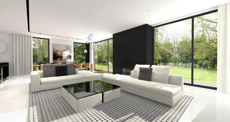 DOM.PL™ - Projekt domu CPT Koncept 30  - DOM CP1-36 - gotowy projekt domu