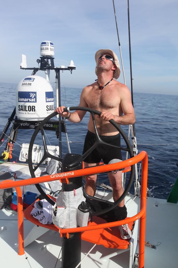 Leg 1 - Day 2 / Groupama in the Volvo Ocean Race 2011-2012