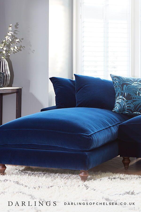 Top 5 Velvet Sofas Darlings Of Chelsea Chaise Sofa Velvet Sofa Sofa Design