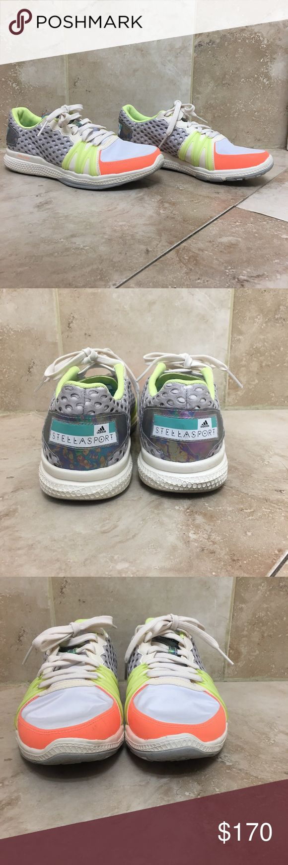 *RARE* Stella McCartney for Adidas Bounce Sneakers VERY RARE. Sneaker collector's dream! Size 7.5 women's. Worn once, ZERO signs of wear only on the soles of these beauties. Adidas by Stella McCartney Shoes Sneakers