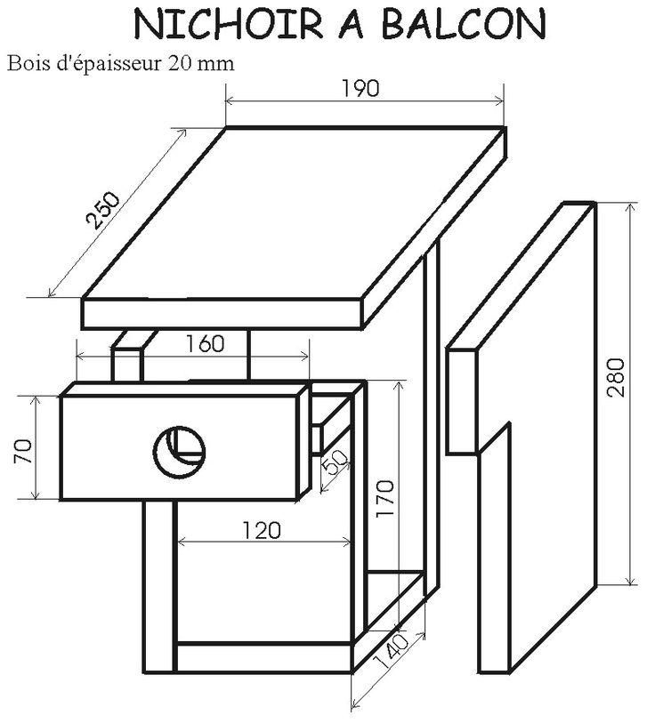 17 meilleures id es propos de nichoir oiseau sur pinterest nid oiseau mangeoire oiseau et. Black Bedroom Furniture Sets. Home Design Ideas